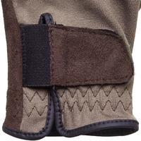 Basic Children's Horseback Riding Gloves - Brown