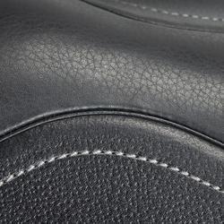 """Sattel Vielseitigkeitssattel Schooling Leder 17,5"""" ausgestattet schwarz"""