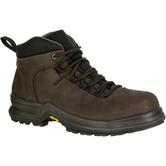 Boots équitation adulte SAFYBOOTS marron - 1080602