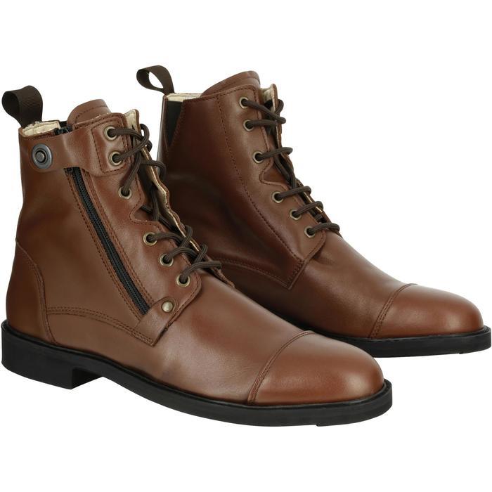 Boots équitation adulte TRAINING LACET 700 - 1080615
