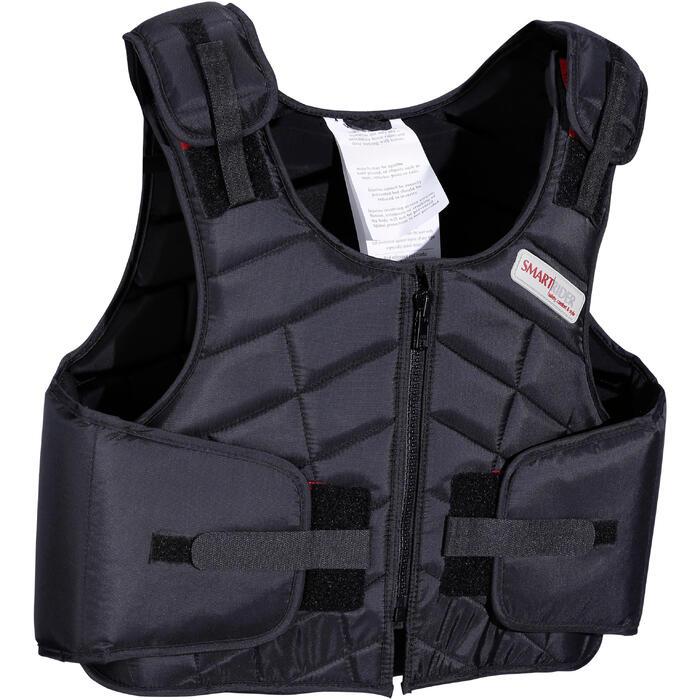 Gilet de protection équitation enfant SMARTRIDER 311 noir - 1080648