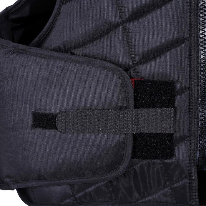 Gilet de protection équitation enfant SMARTRIDER 311 noir - 1080651
