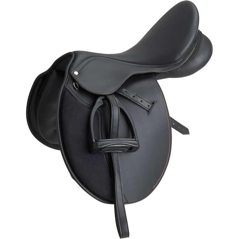 HORSE SADDLES Horse Riding - Synthia 17.5