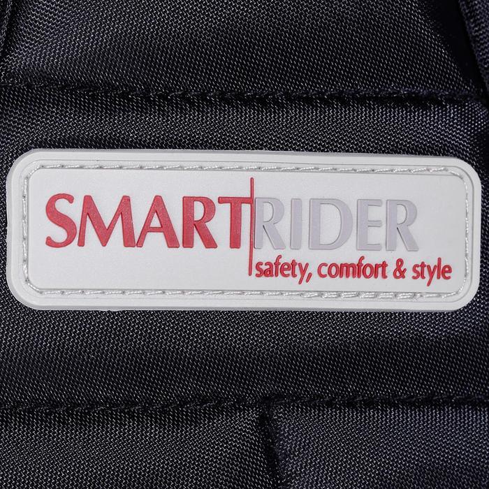 Reitschutzweste Smartrider Erwachsene schwarz