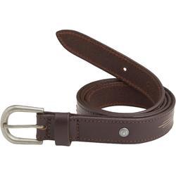 Cinturón de piel equitación CTR Marrón