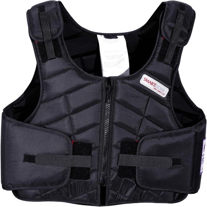 Gilet de protection équitation enfant SMARTRIDER 311 noir - 1080730