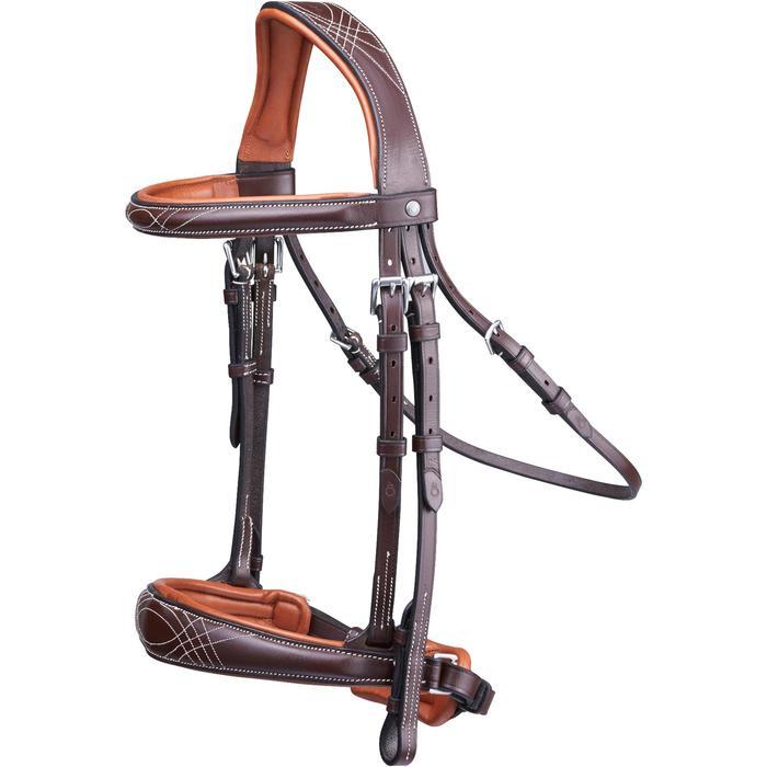 Filet + rênes équitation PULL BACK - taille cheval - 1080741