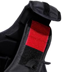 Chaleco de protección equitación niños SMARTRIDER 311 negro