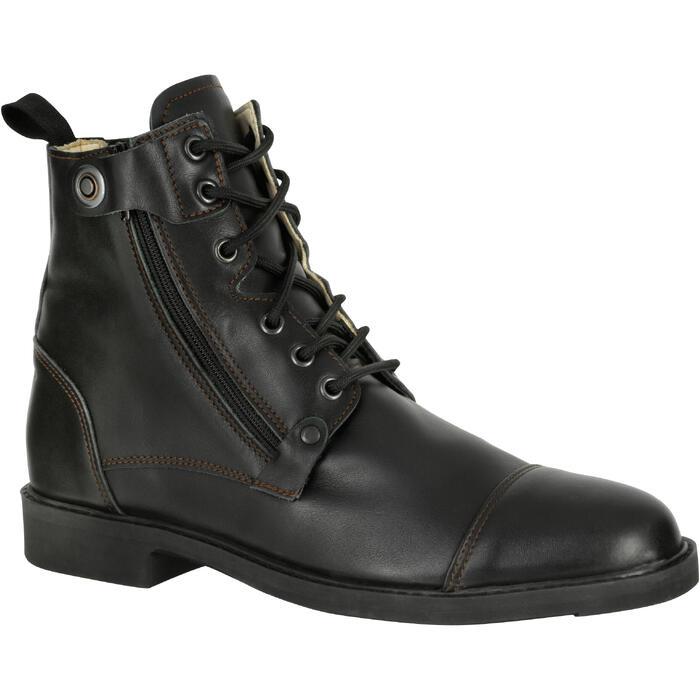 Boots équitation adulte TRAINING LACET 700 - 1080873