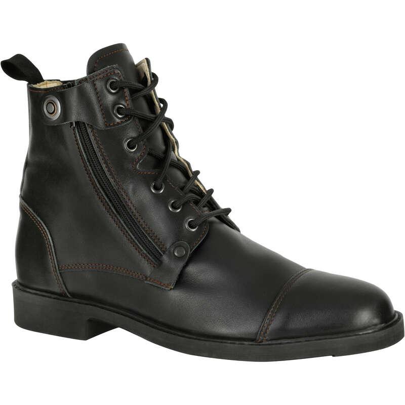 БОТИНКИ ДЛЯ ВЕРХ. ЕЗДЫ Обувь - Ботинки Training 700 FOUGANZA - Обувь
