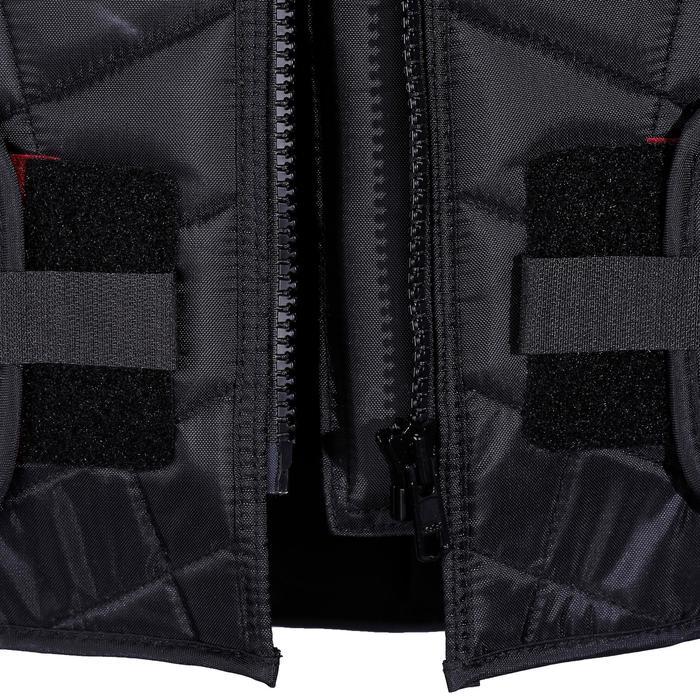Bodyprotector Smartrider voor volwassenen, ruitersport, zwart