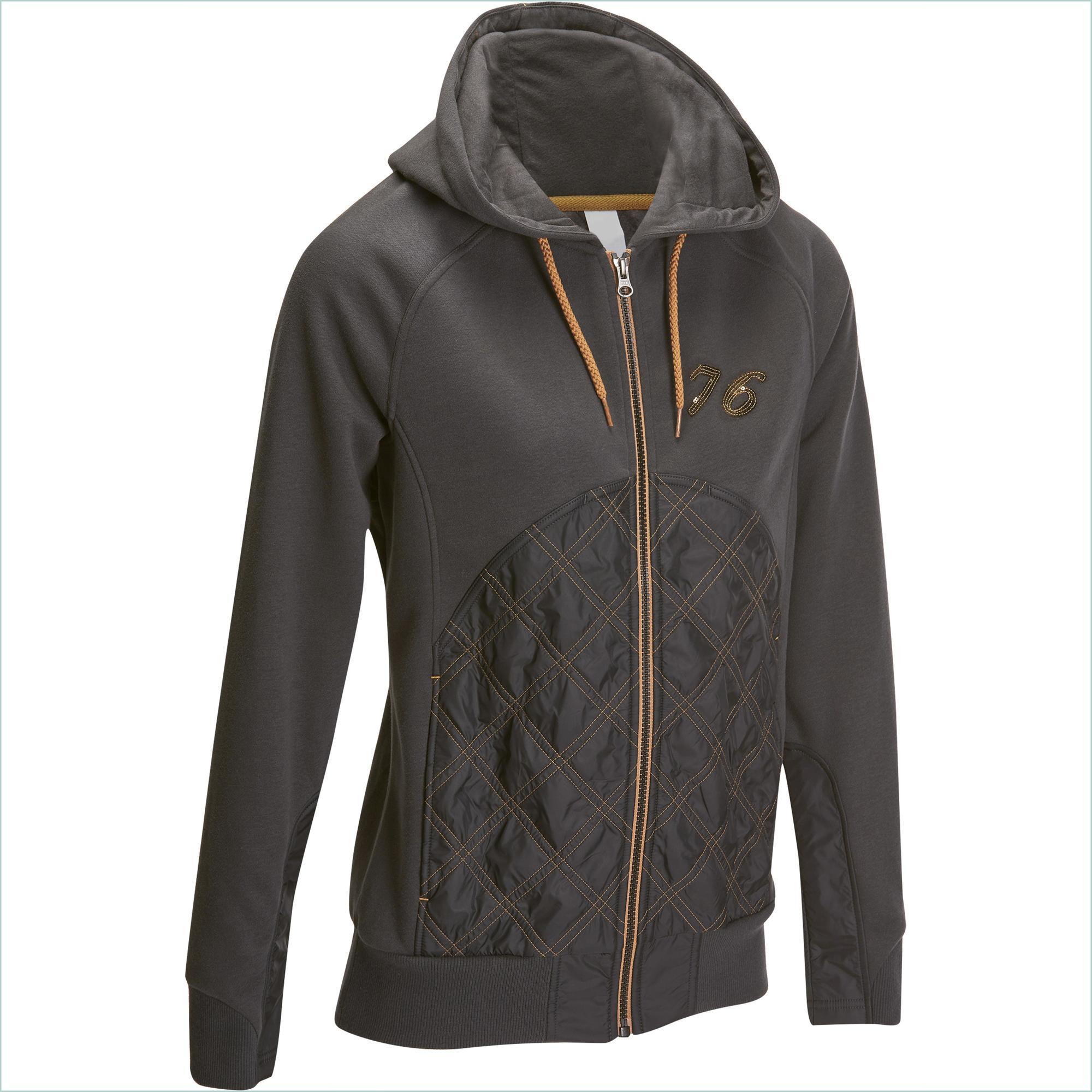 Fouganza Damessweater SW500 ruitersport