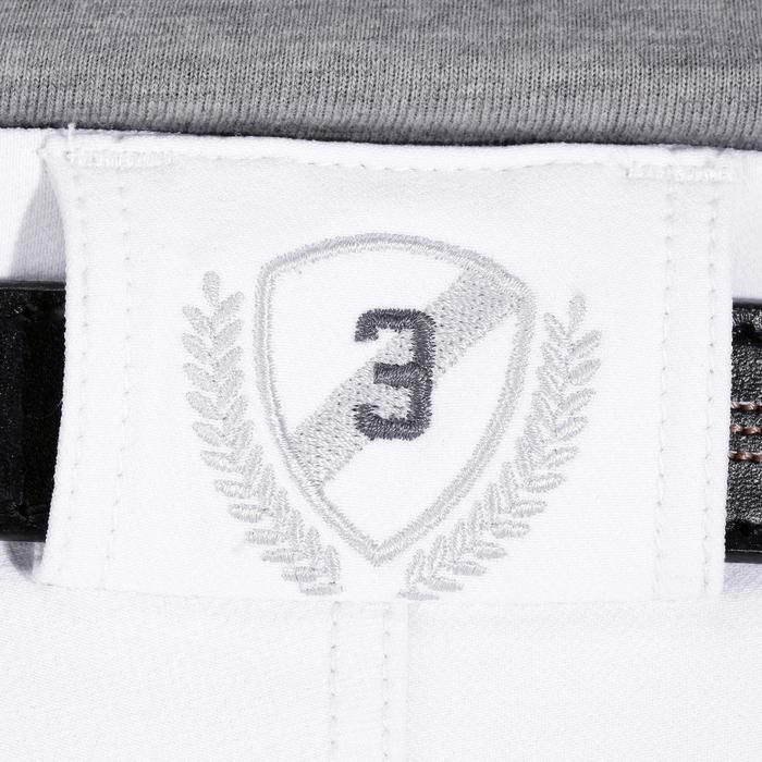 Pantalon Concours équitation homme BR560GRIP basanes silicone blanc - 1081326