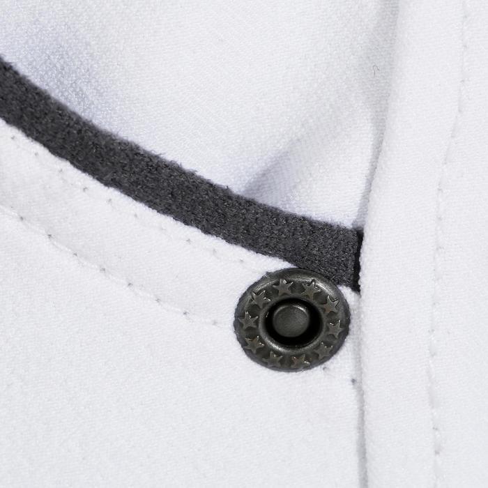 Wedstrijdrijbroek voor heren BR560GRIP met siliconen inzetstukken wit