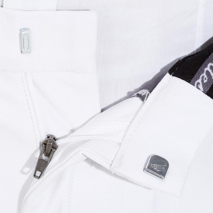 Pantalon Concours équitation homme BR560GRIP basanes silicone blanc - 1081332