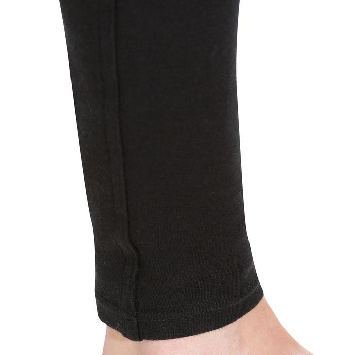 Reithose 140 Rutschfester Kniebesatz Damen schwarz