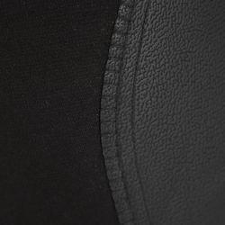 Damesrijbroek 140 met antislip inzetstukken zwart