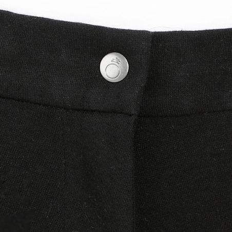 140 Women's Horseback Riding Jodhpurs with Grippy Patches - Black