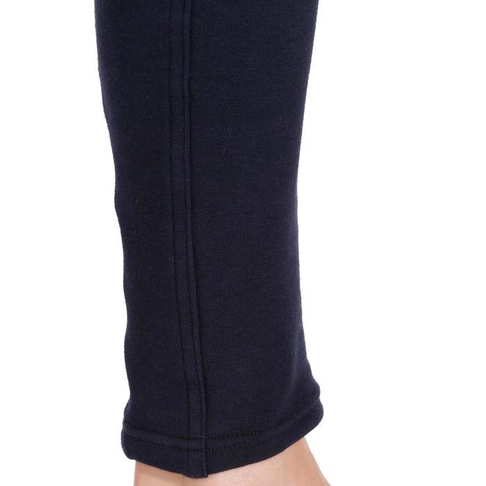 Reithose 140 Kniebesatz mit Grip Damen marineblau