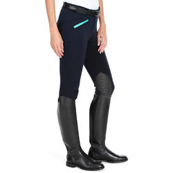 140 Women's Grippy Horseback Riding Jodhpurs - Navy