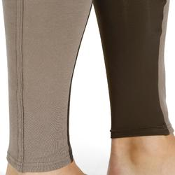 Pantalon fond de peau équitation homme 180 FULLSEAT marron