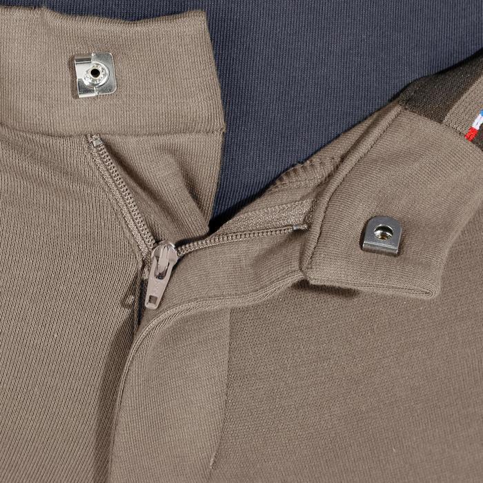 Pantalon fond de peau équitation homme BR180 fullseat marron