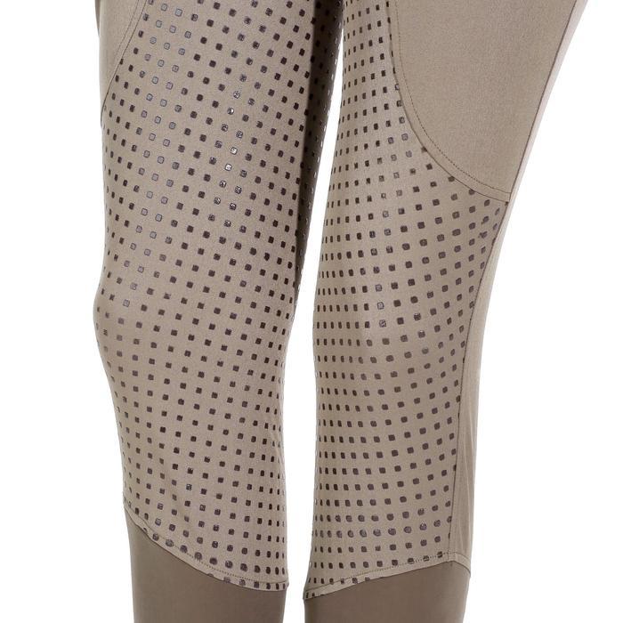 Pantalon équitation femme TRAINING LIGHT bandes silicone - 1081518