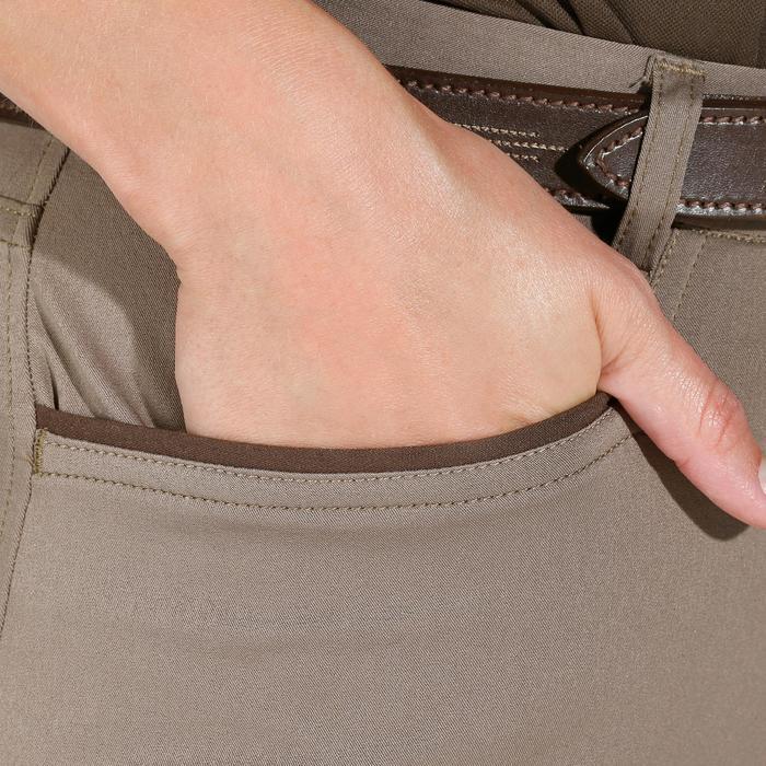 Pantalon équitation femme TRAINING LIGHT bandes silicone - 1081524