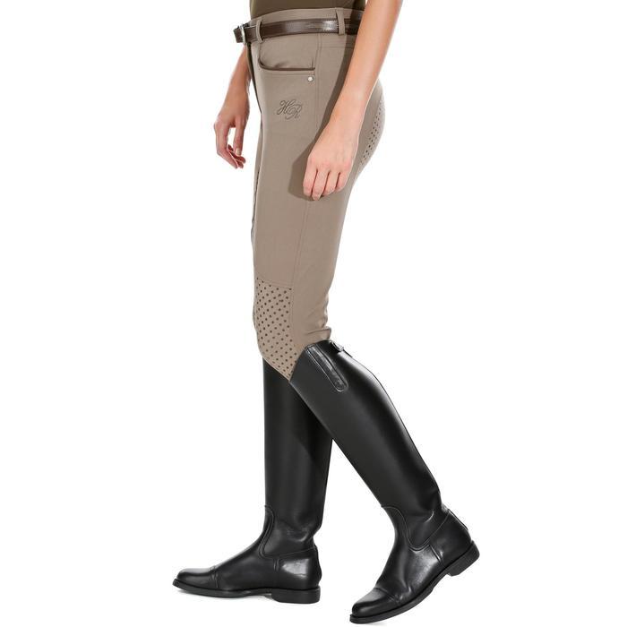 Pantalon équitation femme TRAINING LIGHT bandes silicone - 1081527