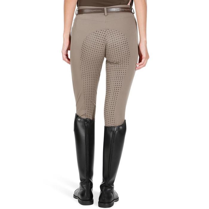 Pantalon équitation femme TRAINING LIGHT bandes silicone - 1081528