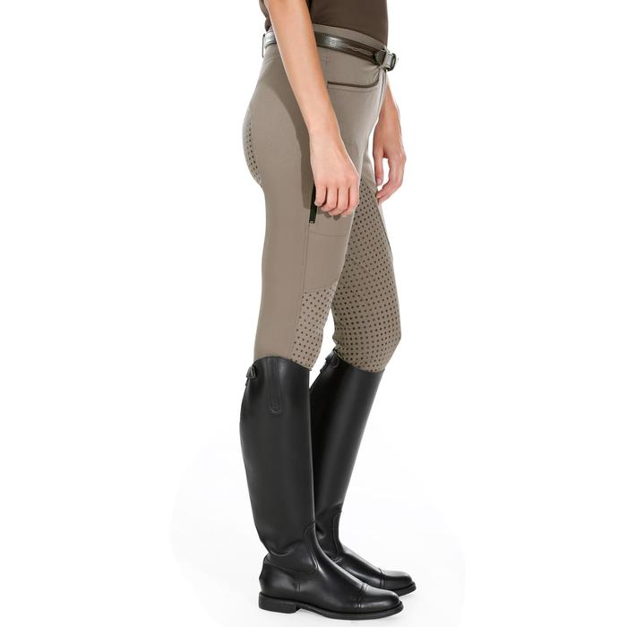 Pantalon équitation femme TRAINING LIGHT bandes silicone - 1081529