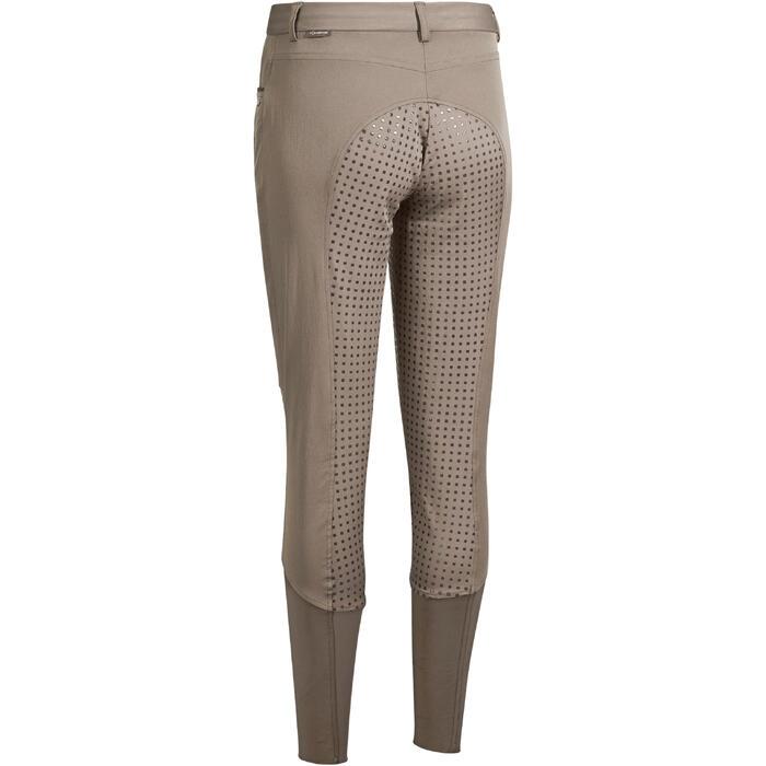 Pantalon équitation femme TRAINING LIGHT bandes silicone - 1081531