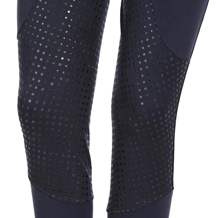 Reithose BR980 Light Full Grip Silikon Damen marineblau