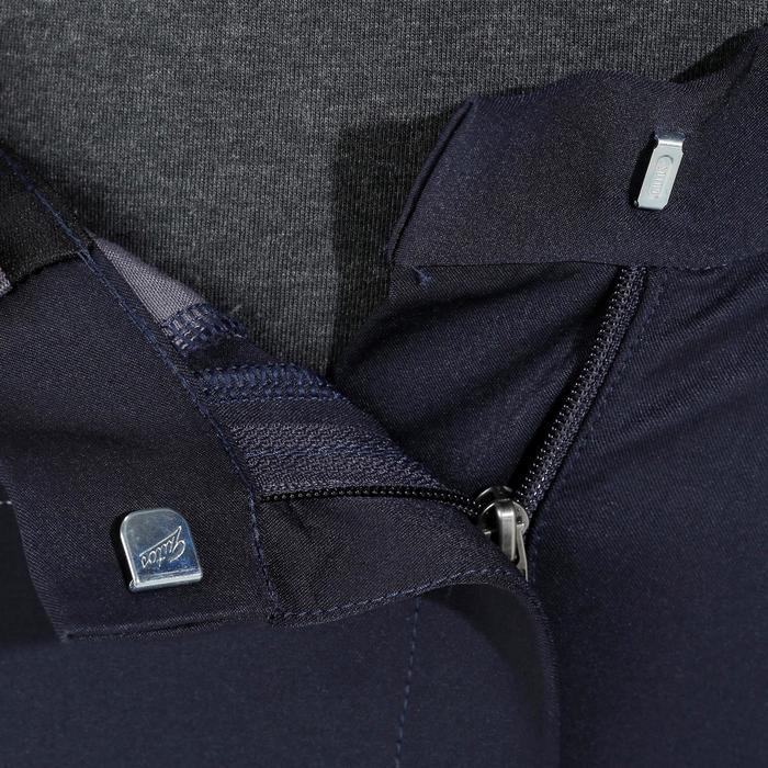 Damesrijbroek BR980 Light full grip siliconen marineblauw