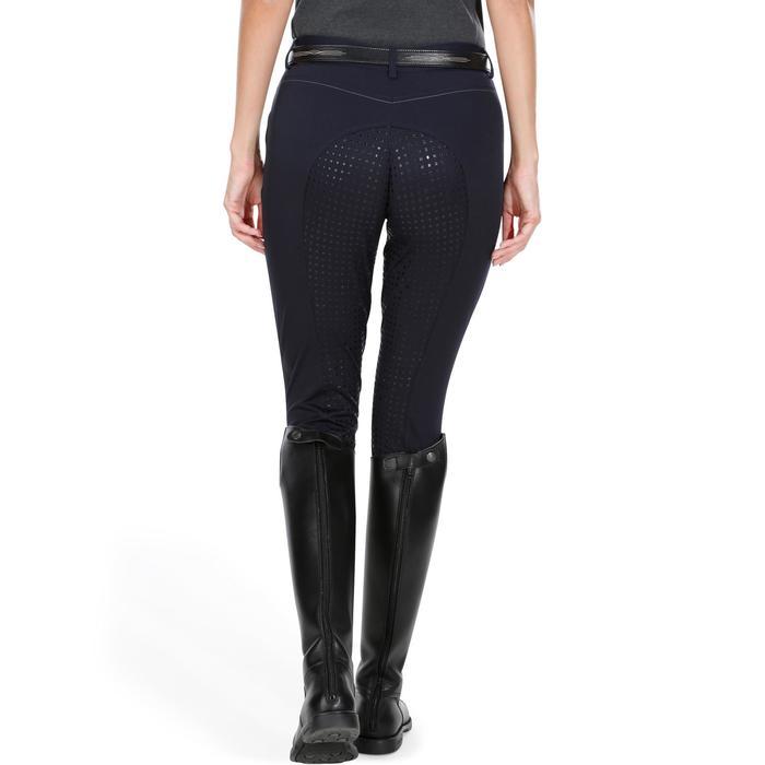Pantalon équitation femme BR980 LIGHT full grip silicone - 1081546