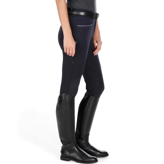Pantalon équitation femme BR980 LIGHT full grip silicone - 1081547