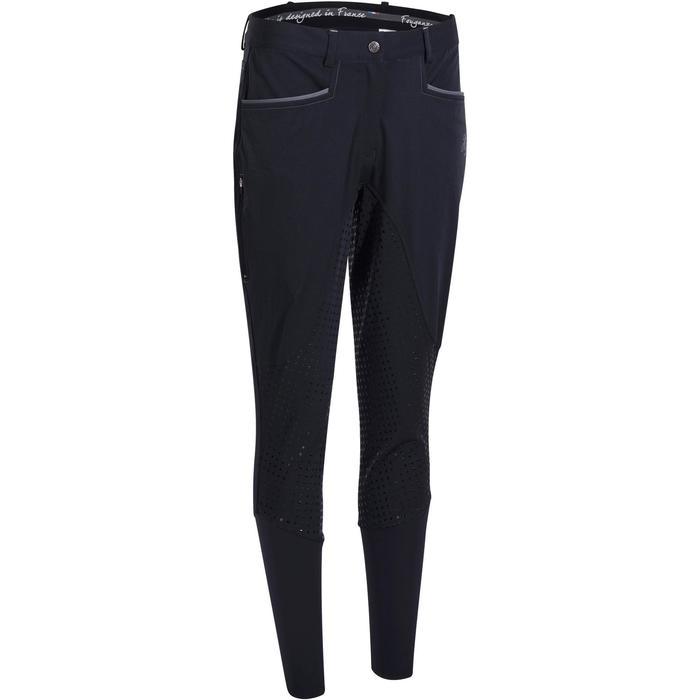 Pantalon équitation femme BR980 LIGHT full grip silicone - 1081550
