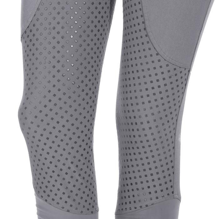 Pantalon équitation femme TRAINING LIGHT bandes silicone - 1081554