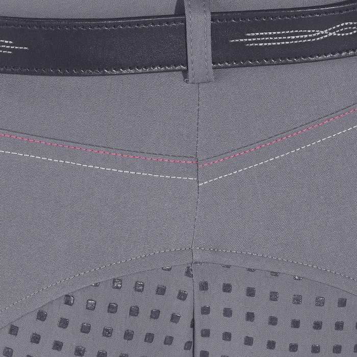 Pantalon équitation femme TRAINING LIGHT bandes silicone - 1081556
