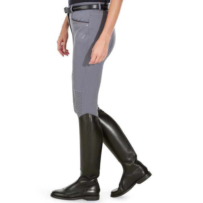 Pantalon équitation femme TRAINING LIGHT bandes silicone - 1081562
