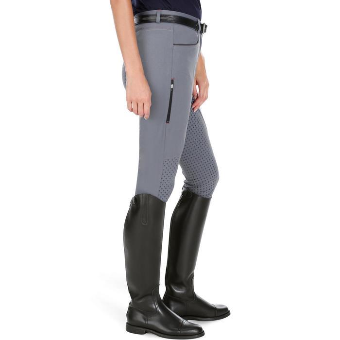Pantalon équitation femme TRAINING LIGHT bandes silicone - 1081564