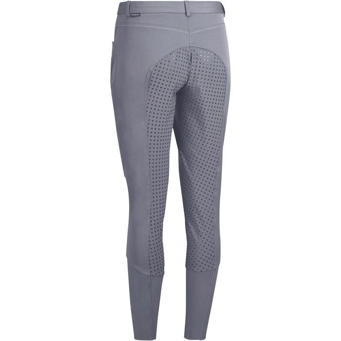 Pantalon équitation femme TRAINING LIGHT bandes silicone - 1081566
