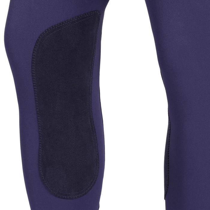 Pantalon équitation homme BR700 basanes gris et chevron - 1081570