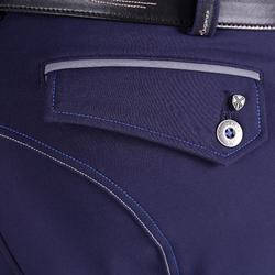 Pantalon équitation homme BR700 basanes marine