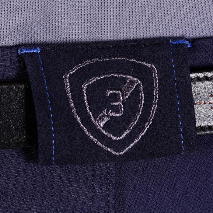 Pantalon équitation homme BR700 basanes gris et chevron - 1081573