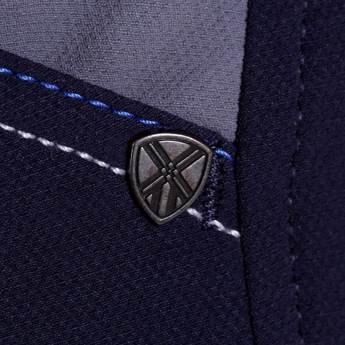 Pantalon équitation homme BR700 basanes gris et chevron - 1081574