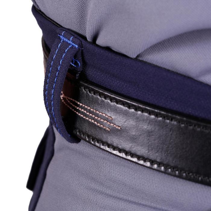 Pantalon équitation homme BR700 basanes gris et chevron - 1081575