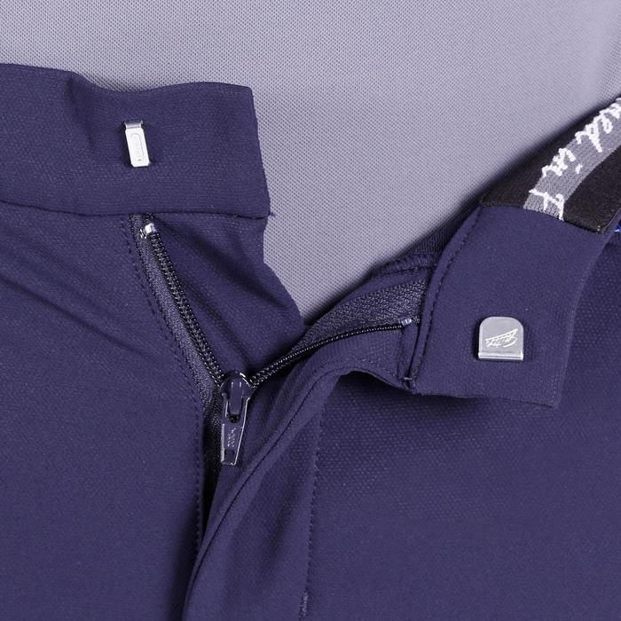 Pantalon équitation homme BR700 basanes gris et chevron - 1081576