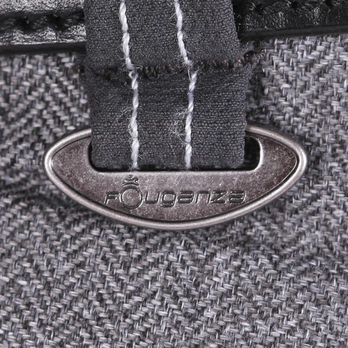 Rijbroek met inzetstukken heren BR700 grijs met visgraatmotief