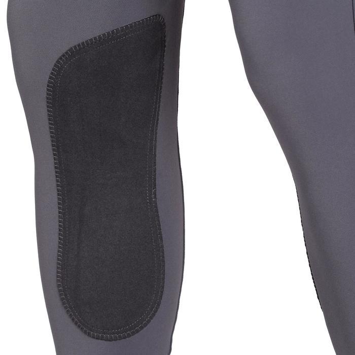 Pantalon équitation homme BR700 basanes gris et chevron - 1081588
